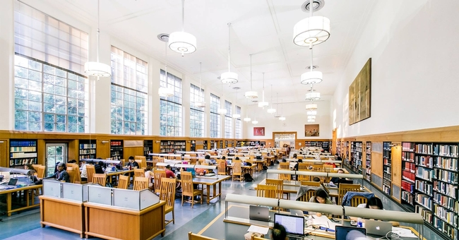 Remote access to UC Davis Library, shown, and other UC libraries is now available to UC ANR employees.
