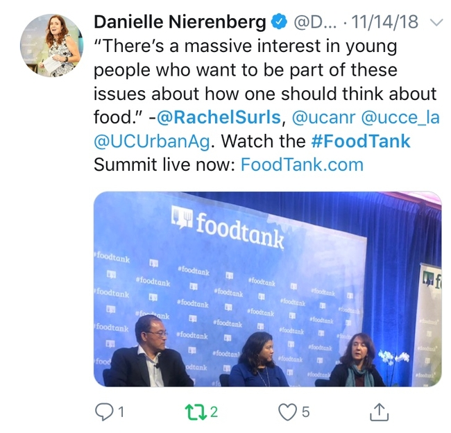 Danielle Surls Foodtank