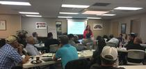 Maria Alfaro, UC IPM pesticide safety education trainer, leads a train the trainer workshop. for ANR Report Blog
