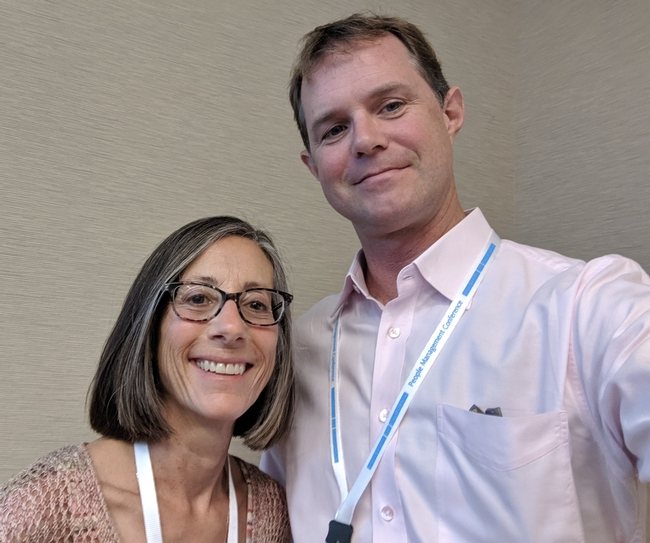 Marisa and Jim UC People Conference 2019