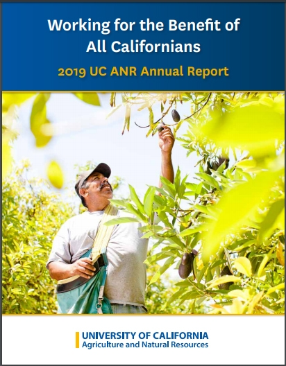 UC ANR's 2019 annual report is now available online.