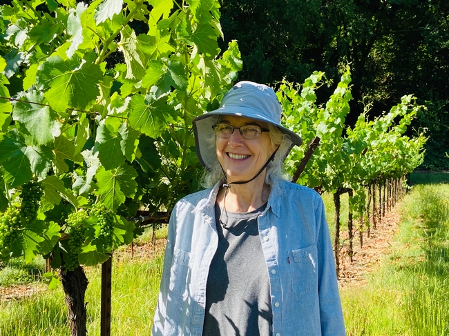 Rhonda Smith, UC Cooperative Extension viticulture advisor, has served Sonoma County's wine grape industry for nearly 34 years.