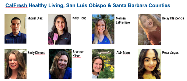 The CalFresh Healthy Living, UC nutrition educators in San Luis Obispo and Santa Barbara counties oversee 200 4-H youth snack club leaders who have taught healthy habits to more than 4,500 of their peers. Their efforts have led to significant improvements in parity in 4-H for reaching Latino youth in their communities.