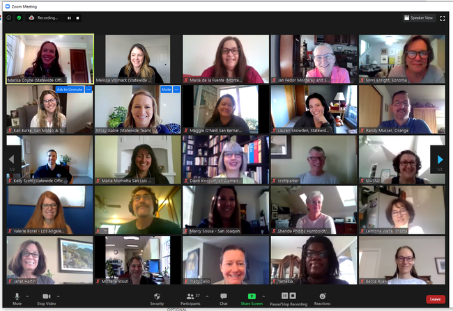 The 2020 UC Master Gardener Mini-Conference was a virtual, livestream event.