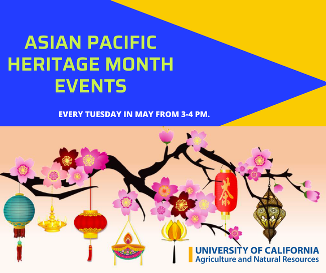 FB graphic - Asian Pacific Heritage Month Events