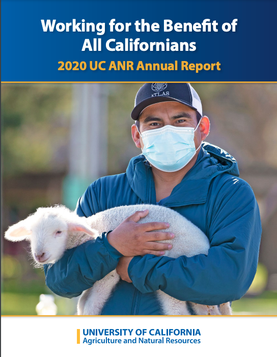 2021 ANR annual report cover