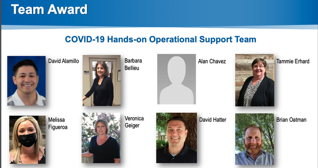 COVID-19 Hands-on Operational Support Team