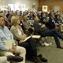A large crowd took part in the launch of the UC Conservation Agriculture Systems Institute.