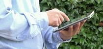 CropManage can be accessed from an iPad in the field. for ANR news releases Blog