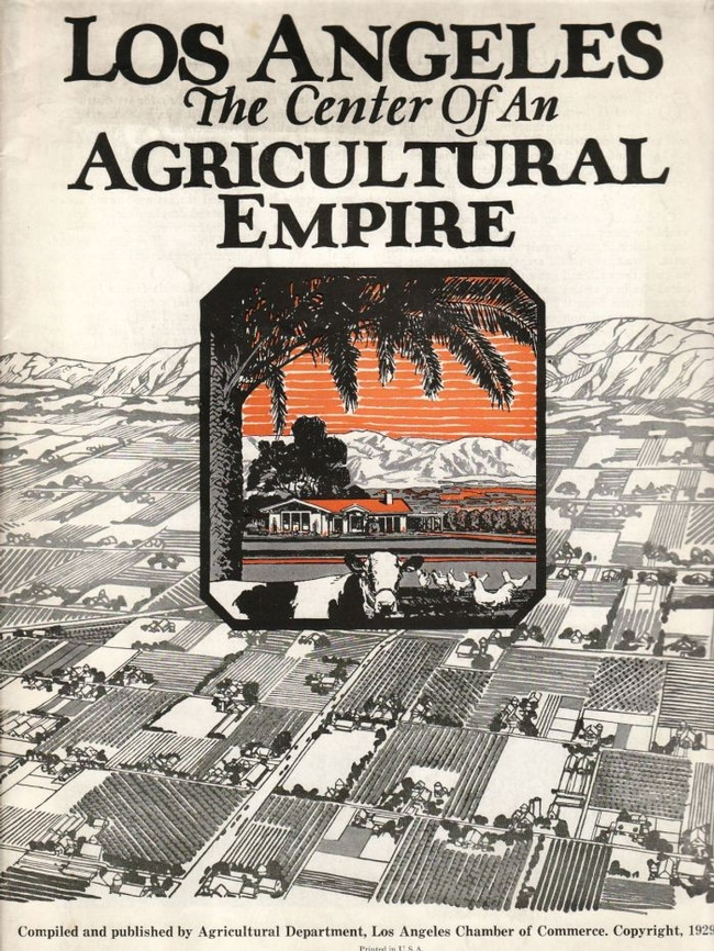1929 brochure published by the Los Angeles Chamber of Commerce titled