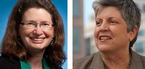 Barbara Allen-Diaz, left, and Janet Napolitano. for ANR news releases Blog