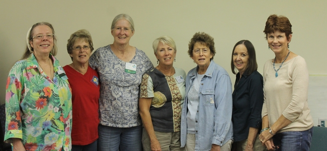 The first place winners of the UC Master Gardeners triennial Search for Excellence Awards