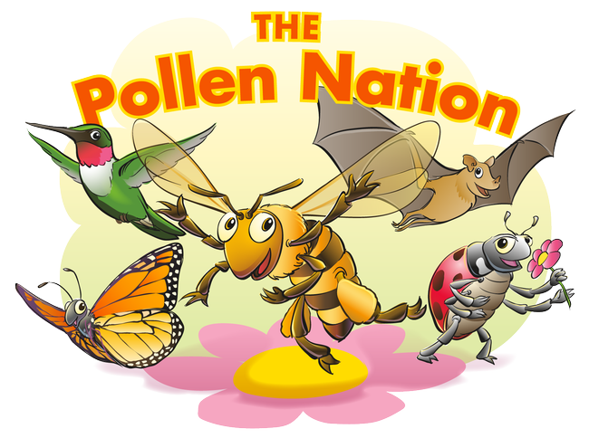 "Join the ""Pollen Nation"" by wearing an antenna headband, available for free at the UC ANR booth."