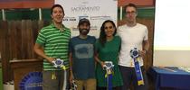 From left, GivingGarden team members GivingGarden team members are Scott Kirkland, Josh Livni, Deema Tamimi and John Knoll. for ANR news releases Blog
