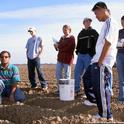 Agriculture majors are eligible for UC ANR scholarships, including one to study soil improvement.