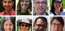 Top row, left to right, Kamyar Aram, Marisa Coyne, Amer Fayad and Joy Hollingsworth. Bottom row, left to right, Susana Matias, Joji Muramoto, Mohamed Nouri and Kosana Suvocarev. for ANR news releases Blog