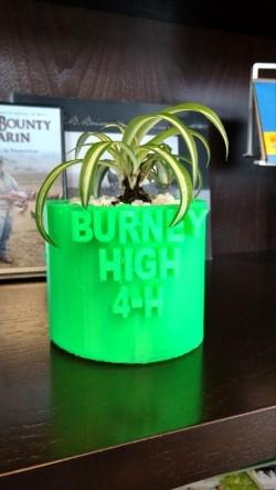 3-D printer planter