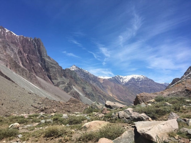 Mark Bell's 10,000 ft  thinking spot in Chile
