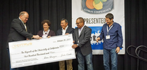 A generous donation from the Citrus Research Board has made creation of a Citrus Research Endowment possible. (Photo credit: Jeanette Warnert ) for ANR Adventures Blog