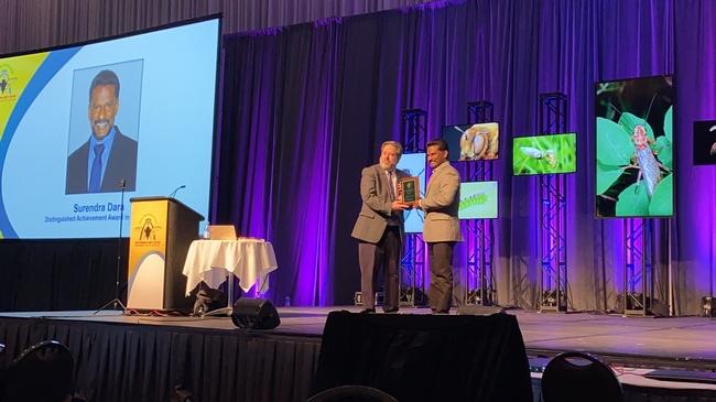 Dara receives ESA Distinguished Service Award
