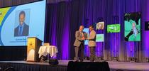 Dara receives ESA Distinguished Service Award for ANR Adventures Blog