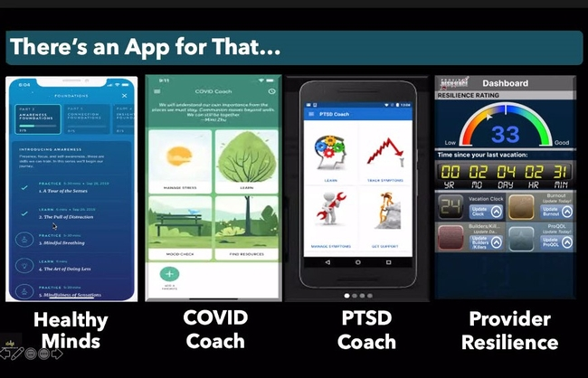Apps to help manage stress