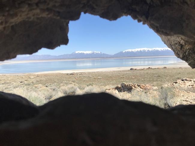 Mark Bell visits Antelope Island