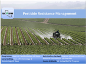 Pesticide Resistance Management
