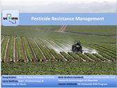 Pesticide Resistance Management