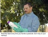 label reading caption