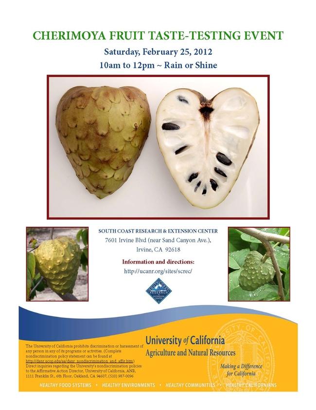 Cherimoya Taste Event 2012
