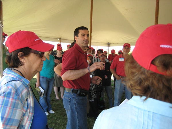 UNL professor Suat Irmak said California agriculture used to be very good about adopting new technologies.