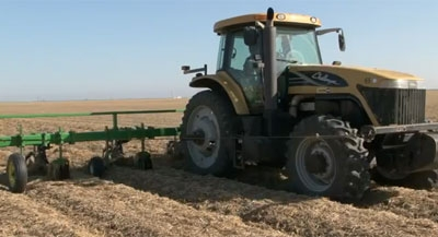 Minimum tillage can help farmers save money.