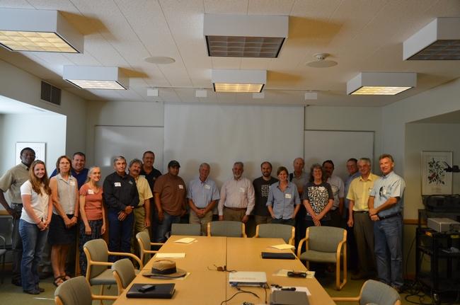 CASI team members and ASI hosts with UCD Associate Dean Jan Hopmans.