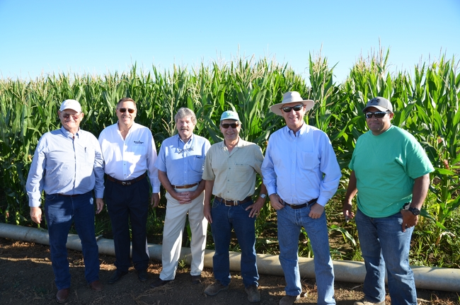 CASI members hosted by Martin Burger and Israel Hererra of the Long-Term Research on Agricultural Systems (LTRAS) Project.