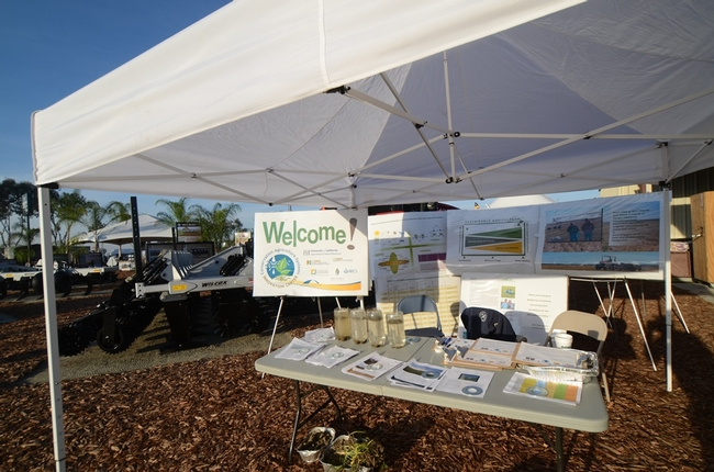 CASI Tent at World Ag Expo 2015 in Tulare