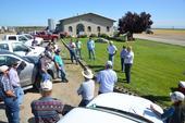 Strip Field Day at Marty Poldevarrt MTSJ Dairy, Orland, CA