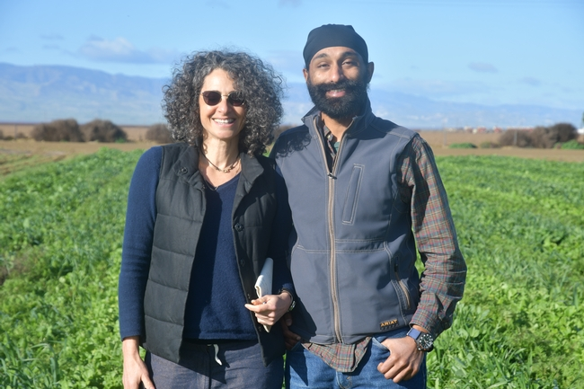 Drs Daphne Miller MD and Jagdeep Singh MD visiting the NRI Project field in Five Points, CA January 21, 2019