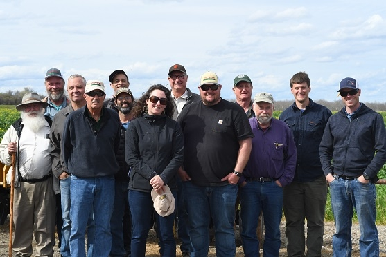 CIG group of participants in the March 26, 2019 visit to Park Farming in Meridian, CA.
