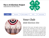 Virtual election site