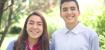 4-H Teen Leaders Fiona Reyes and Santiago Piva for California 4-H Grown Blog