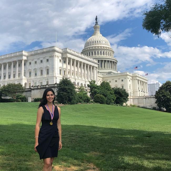 Sissy Sugarman in Washington, D.C.
