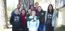 Casey and Raedyn (center) with the Bay/Coast Youth Summit planning team. for California 4-H Grown Blog