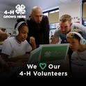 We love our 4-H volunteers