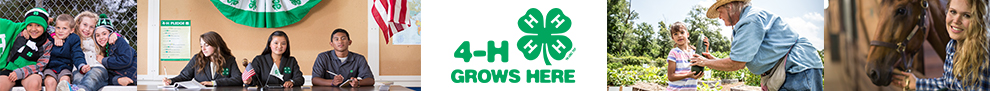 California 4-H Grown - Header