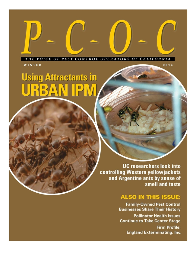 Using attractants in urban IPM Voice of PCOC Winter2014
