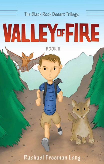 Valley of Fire is the second book in Long's Black Rock Desert trilogy.