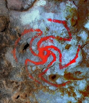 Ancient Native Americans painted a psychoactive weed in Kern County rock art