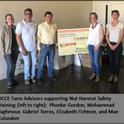advisors at nut harvest safety