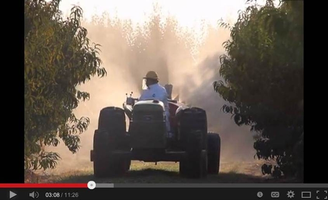 Screen shot of Smart Sprayer in action